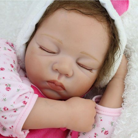 Menina Dormindo 55 Centímetros - ZYW992HL6