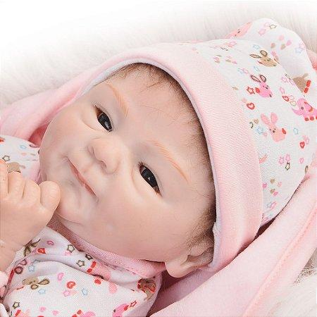 Bebê Reborn Menina 40 Centímetros - JXGYBCTJ2