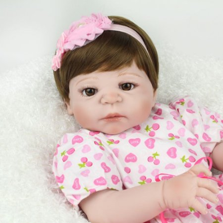 Reborn bebê 100% Silicone Perfeita - QMD8ZPL6D