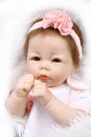 Bebê Reborn 50 Centímetros Realista - W5SEQK277