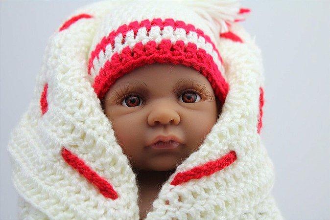 Reborn Bebê 27 Centímetro Pode dar Banho - QPKWKUYXW