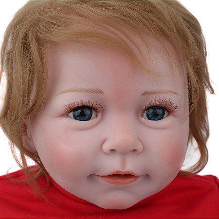 Bebê Menino 55 Centímetros Ruivinho - AN44FWGEH
