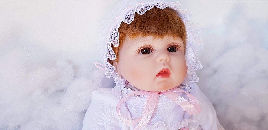 Linda Bebê Reborn 42 Centímetros - 52MRT3XGN