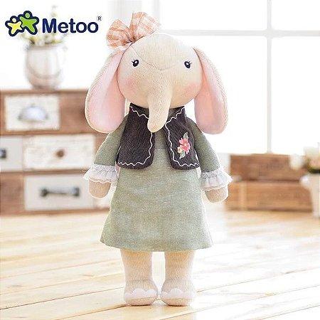 Pelúcia Metoo Elefante 30 Centímetros