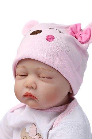 Bebê Reborn 43 Centímetros Dormindo Princesa