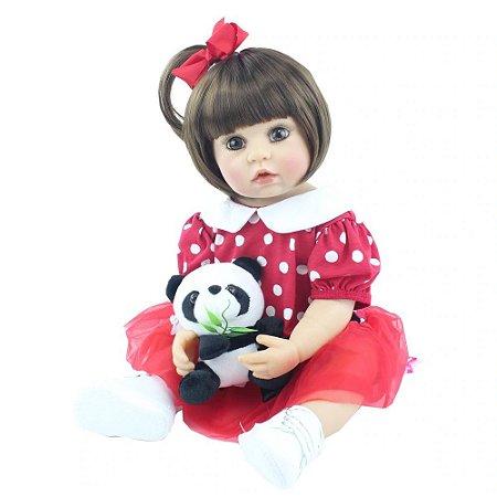 Boneca Reborn 100% Silicone Princesa