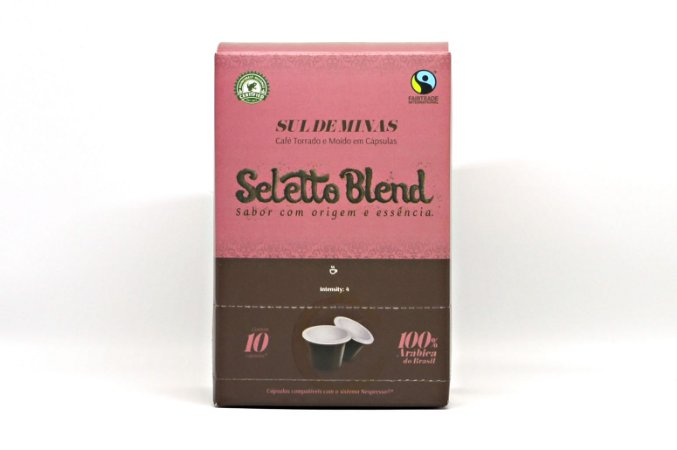 Seletto Blend - Sul de Minas - Cápsulas* 10 unidades