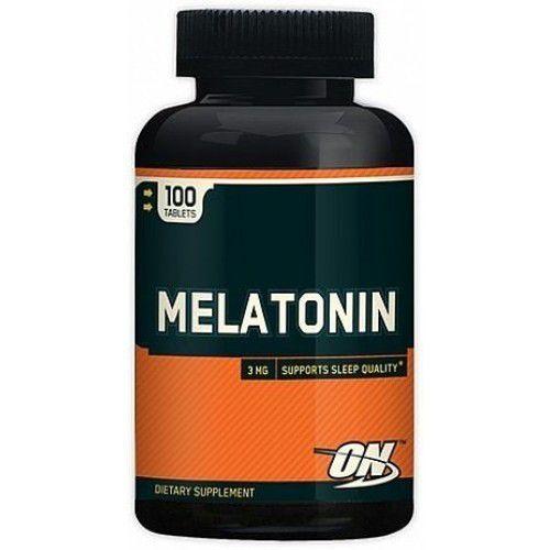 Melatonina - 100 tabs - Optimum Nutrition