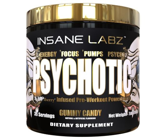 Psycothic Gold - 35 doses - Insane Labz