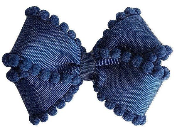 Bico de Pato Laço Pompom M ( 8 x 6 cm)