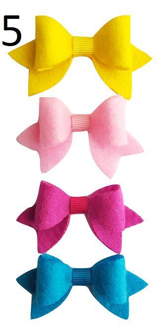 Kit Bico de Pato Lacinho Malu (5,5 x 3 cm)
