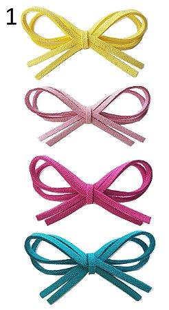 Kit de lacinho para colar Loop Baby (6 x 3,5 cm)