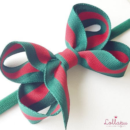 Faixinha Gucci Inspired (8 x 5cm)