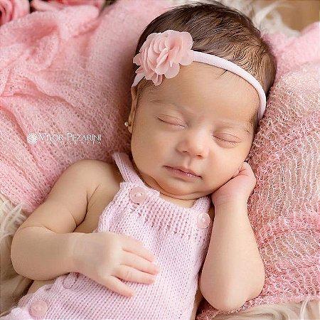 Faixinha - Tiarinha Floral Baby