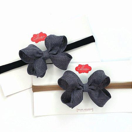 Faixinha - Tiarinha Laço Boho (8cm)