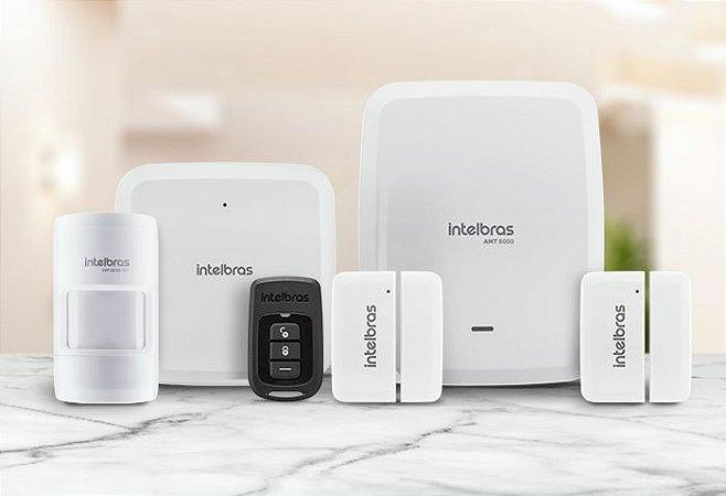 Kit Alarme Sem Fio Intelbras AMT 8000 Slim
