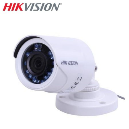 Câmera Bullet HD 720p 1MP 3.6mm DS-2CE16C0T-IRPF Hikvision