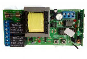 Placa Portão Eletrônico Garen Ppa + 2 Controle