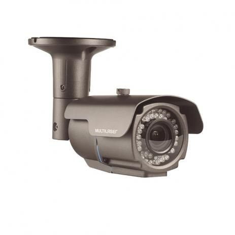 Camera Bullet Multilaser Ahdm 960p 12mm 72 Led Ip66 Se172