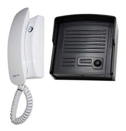 Interfone Porteiro Eletrônico Líder Lr-520 Baby Alimentação Externa