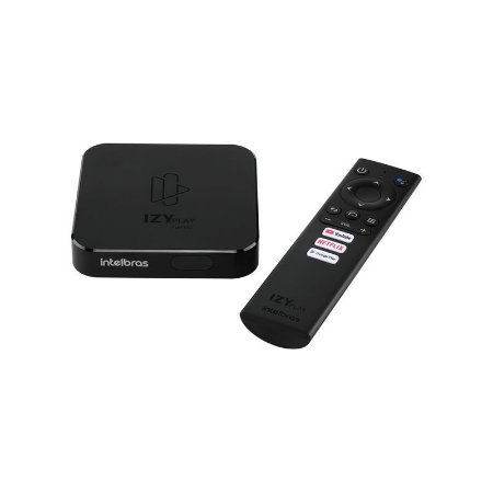 Smart Box Android Tv Izy Play Intelbras Original