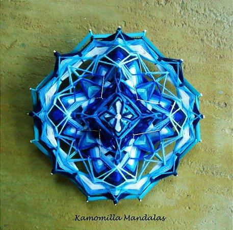 Mandala  Geometria sagrada 16 pontas e 4 dimensões