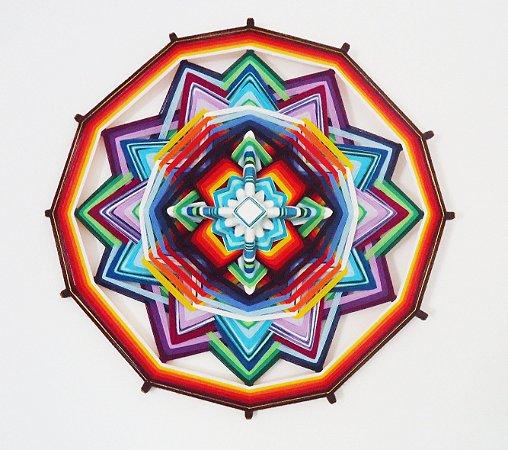 Mandala Ânima com 12 pontas (80cm)