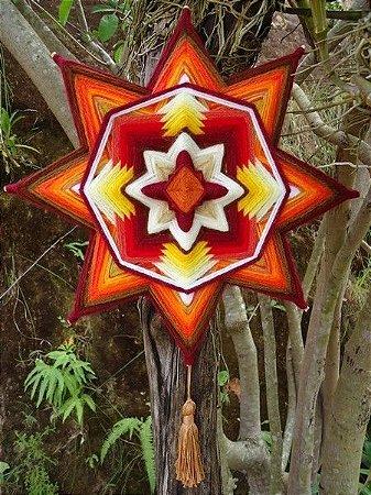 Mandala Estrela Estimulante (30 cm)