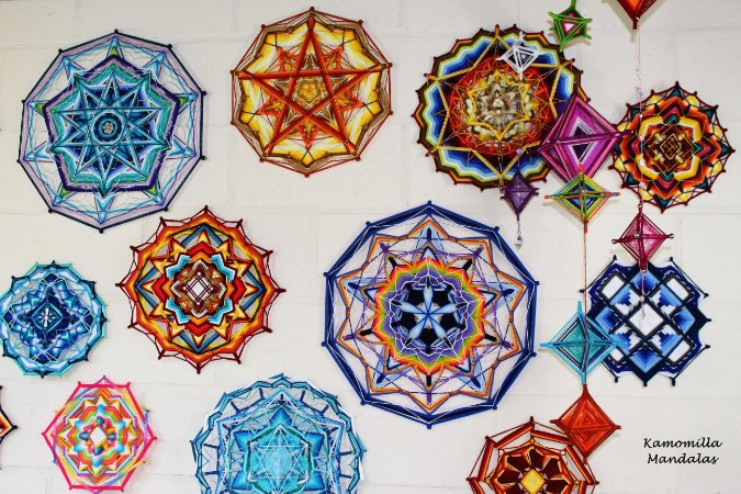 Workshop Mandalas de 10 pontas Presencial