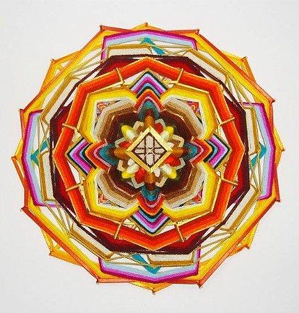 Mandala Alma Celta (40 cm) 16 pontas