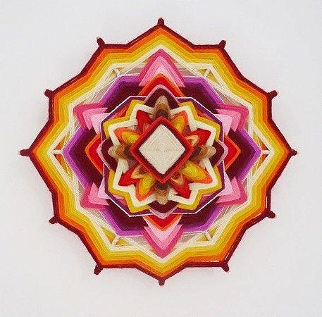 Mandala de 30 cm e 12 pontas