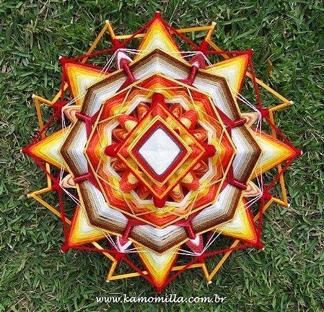 Mandala com 16 pontas e 4 dimensões