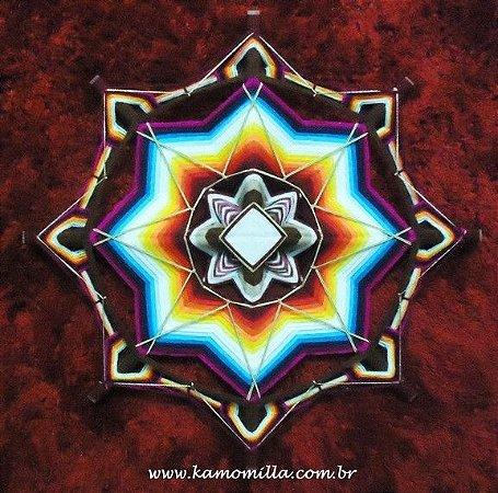 Mandala 50 cm multicolorida