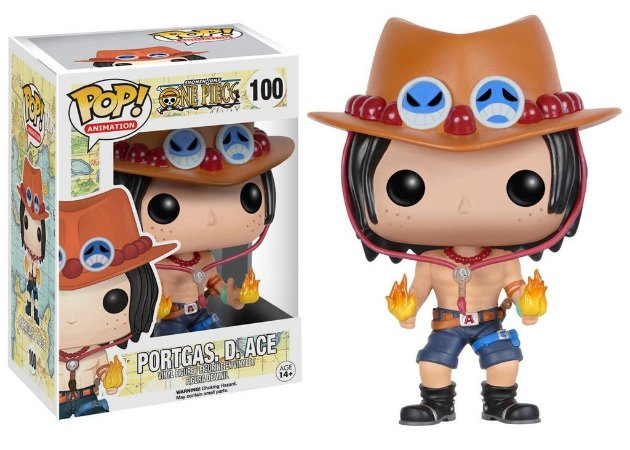 One Piece Portgas D Ace Pop - Funko