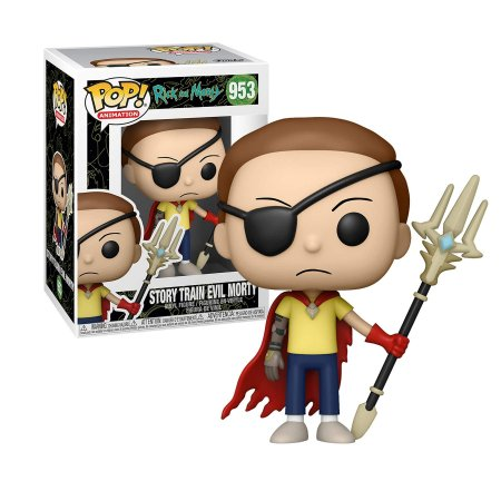 Rick and Morty Story Train Evil Morty Pop - Funko