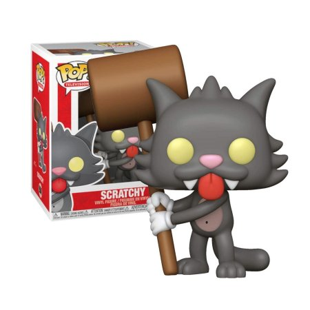 The Simpsons Scratchy Coçadinha Pop - Funko