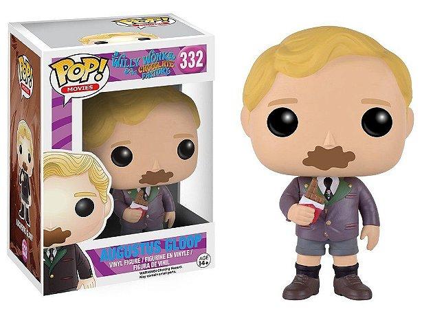 Willy Wonka Augustus Gloop Pop - Funko