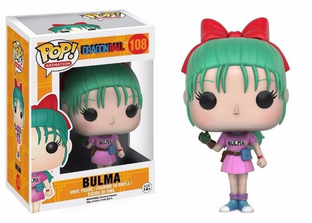 Dragon Ball Bulma Pop - Funko