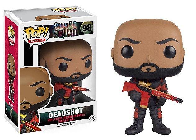Suicide Squad Deadshot Unmasked Pop - Funko