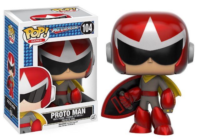 Mega Man Proto Man Pop - Funko