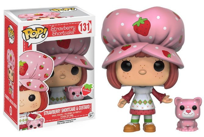 Strawberry Shortcake Moranguinho Strawberry Shortcake & Custard Pop - Funko