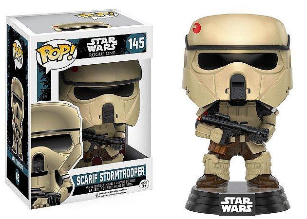 Star Wars Rogue One Scarif Stormtrooper Pop - Funko