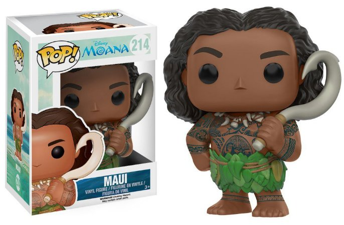 ***EM ABRIL*** Disney Moana Maui Pop - Funko