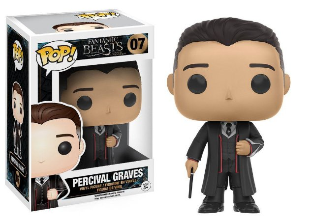 Animais Fantasticos Percival Graves Pop - Funko