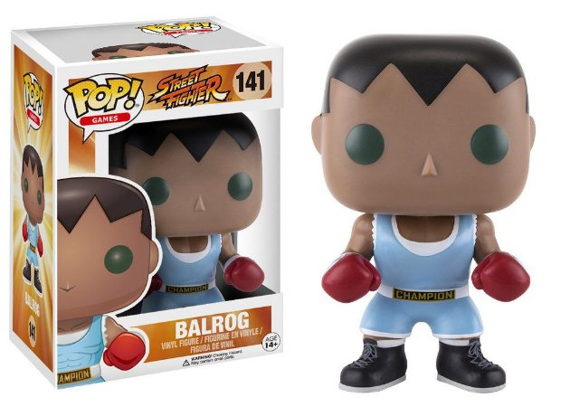 Street Fighter Balrog Pop - Funko