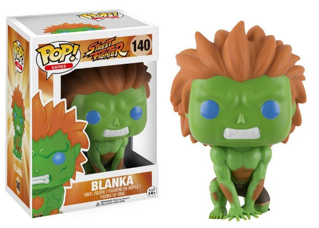 Street Fighter Blanka Pop - Funko