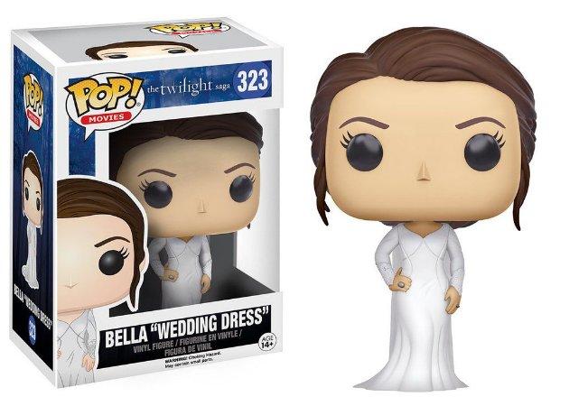Twilight Crepusculo Bella Wedding Dress Pop - Funko