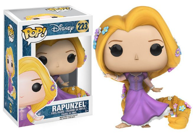 ***EM ABRIL*** Disney Rapunzel Gown Version Pop - Funko