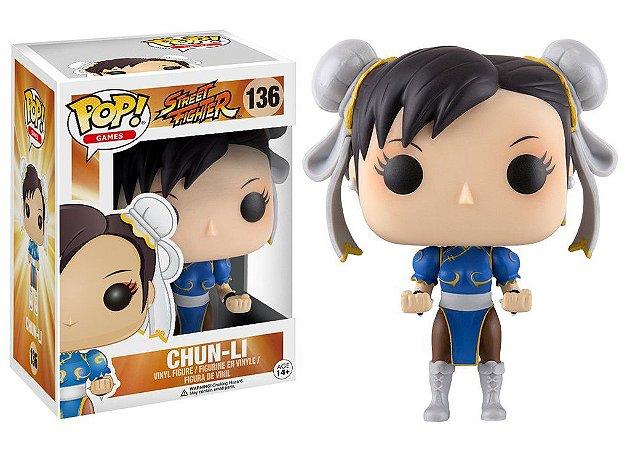 Street Fighter Chun-Li Pop - Funko