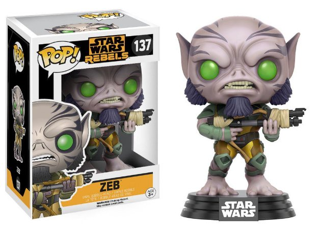 Star Wars Rebels Zeb Pop - Funko